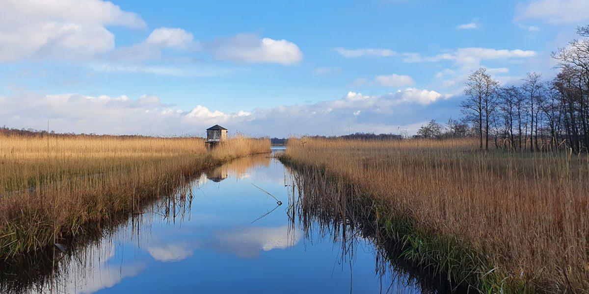 Het Laarzenpad bij Naardermeer